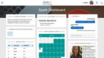Design Film Digital Solutions SPARK Intranet Platform