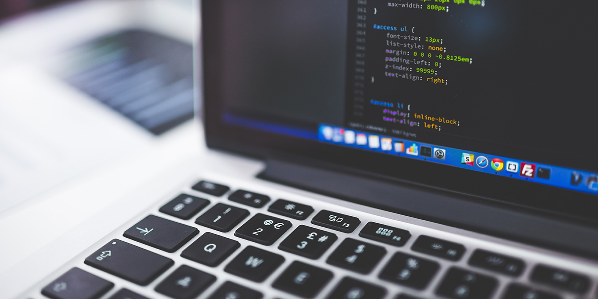 b2b portal development, laptop